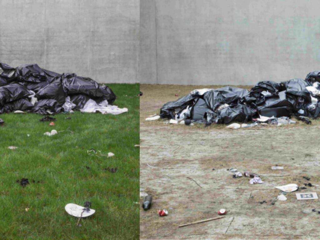 Kunst in Zeiten sozialer Distanz über Online-Plattformen und Social Media sichtbar machen: Das Kunstmuseum Bregenz (KUB) dokumentiert mit einer Fotoserie den Verfall der Ausstellung «Kind Kingdom» der amerikanischen Künstlerin Bunny Rogers.