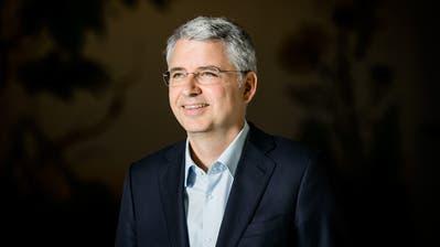 Severin Schwan sagt, viele glaubten nun, dass Roche dank des neuen Coronatests nun das grosse Geschäft mache. Dem sei aber nicht so. (Sandra Ardizzone/ WR)