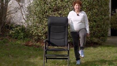 «Ältere Personen sollen sich bewegen», heisst es beim Bund – die perfekten Übungen für Senioren im Video