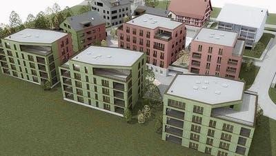 So soll das neue Inwiler Dorfzentrum aussehen