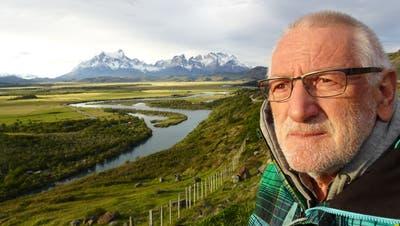 Lorenz Becker Ende 2019 im «Torre del Paine»-Nationalpark in Patagonien/Chile. Erst einige Wochen später beginnt die Wohnmobil-Reise ungemütlich zu werden. (Bild: Reisearchiv Lorenz Becker)