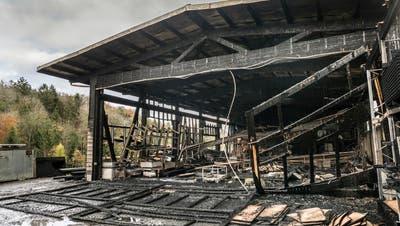 Hörhauser Schreinerei ringt nach Grossbrand um Zukunft – nun soll ein Nachlassvertrag den Konkurs verhindern