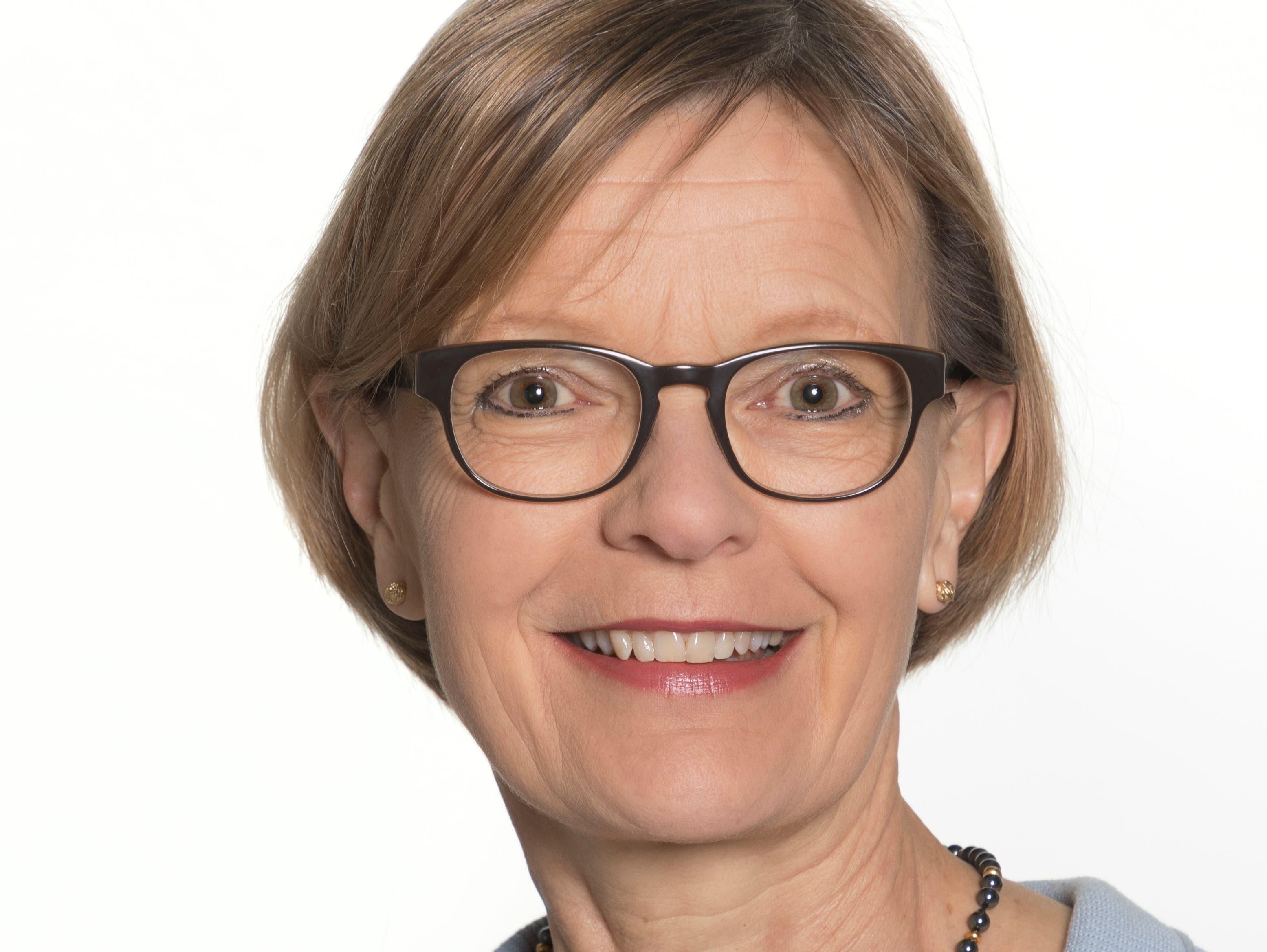 Heidi Schilliger Menz (FDP), Bildungsvorsteherin.