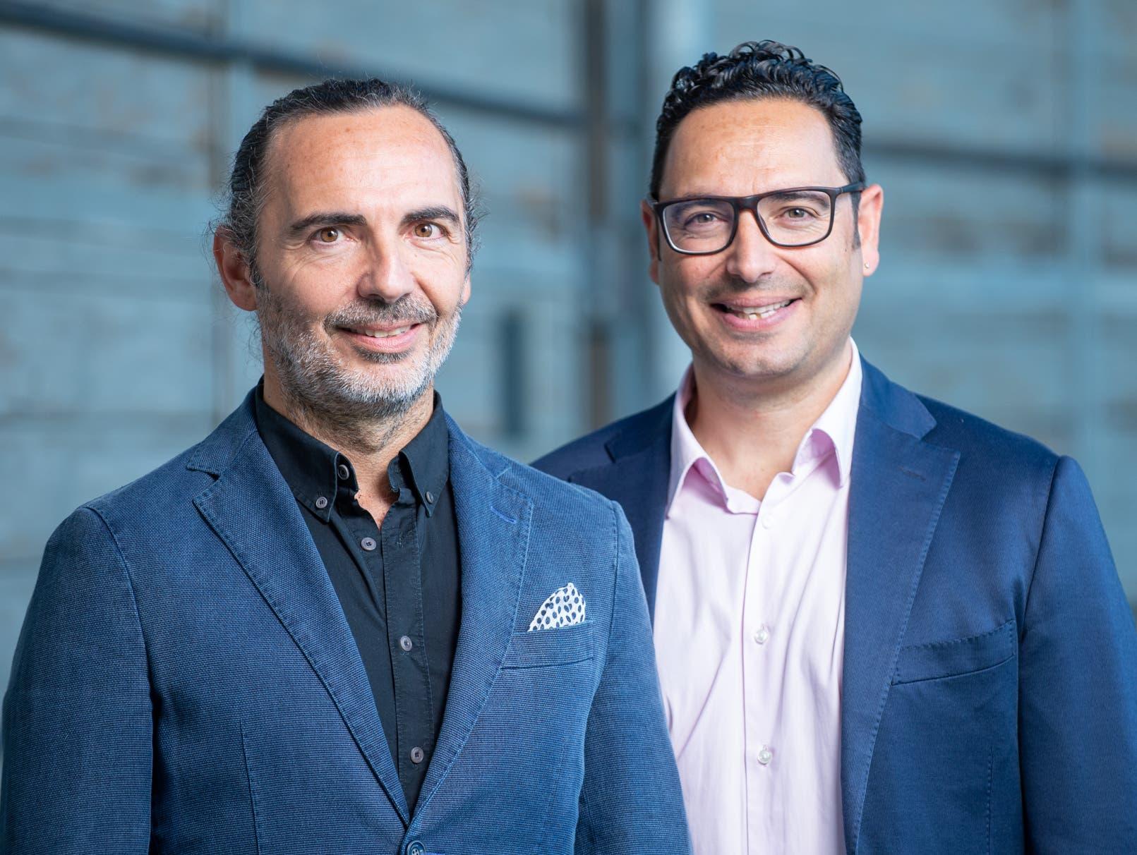 Renato (links) und Michele Cedrola geniessen als Spielerberater einen guten, seriösen Ruf.