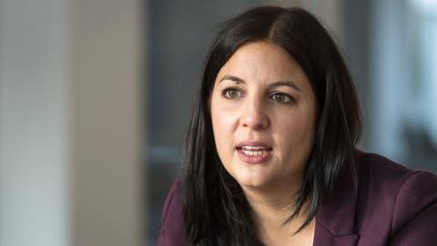 Laura Bucher, St.Galler SP-Regierungsratskandidatin. (Bild: Michel Canonica)