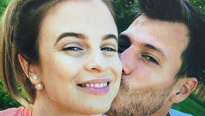 FCL-Keeper Marius Müller und seine Ehefrau Vivien. (Bild: Instagram)