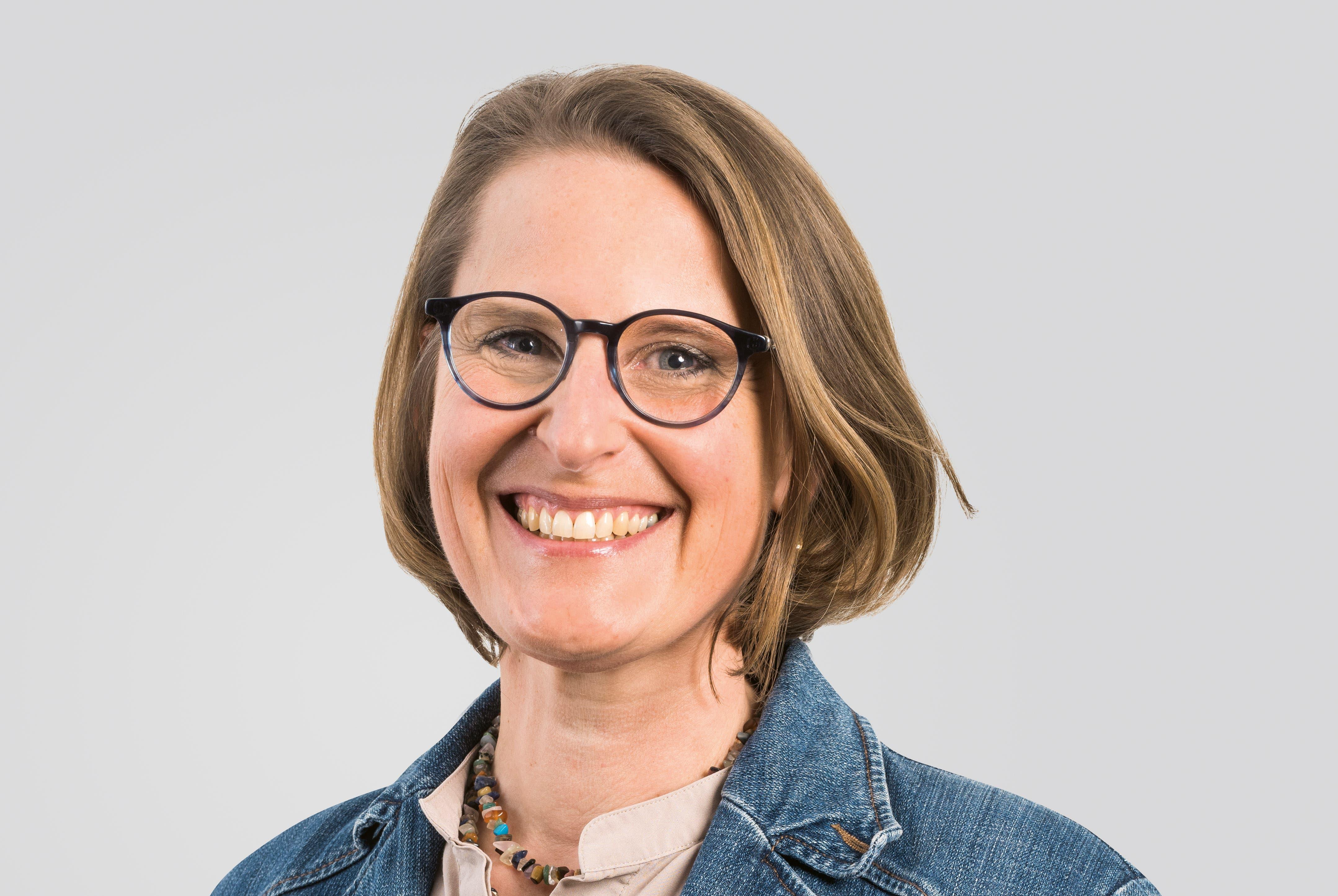 Sabine Beck-Pflugshaupt (CVP), Stadtpräsidentin.