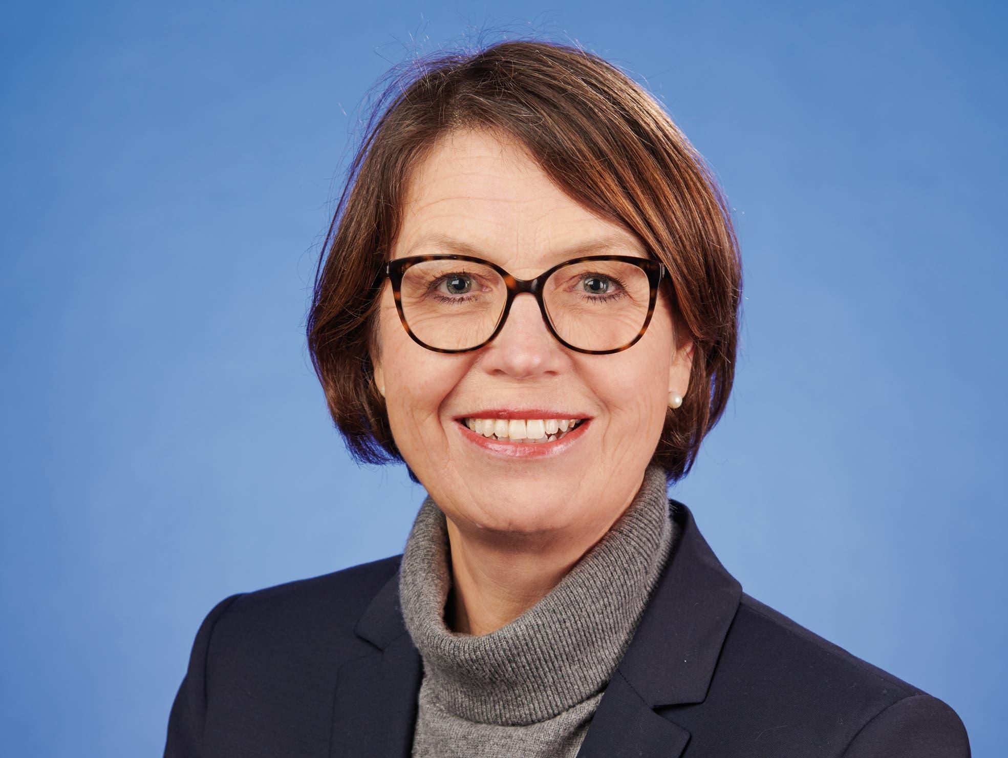 Jolanda Achermann Sen (SP), Sozialvorsteherin.
