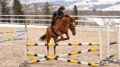 Elias Laky trainiert in Oberkirch bei Sursee. (Bild: PD)