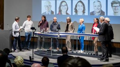 Podiumsdiskussion im Auditorium der Luzerner Zeitung zu den Stadtratswahlen Luzern am Dienstag, 3. März 2020. (Philipp Schmidli / PHILIPP SCHMIDLI | Fotografie)