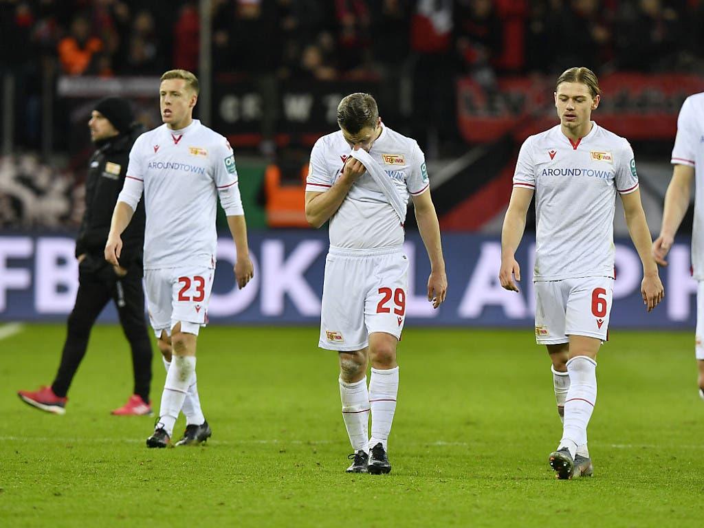 Union Berlin kam dem zweiten Cup-Halbfinal ganz nahe