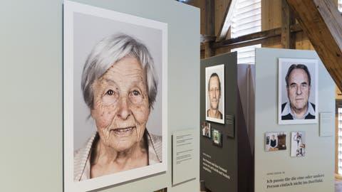 Eine Ausstellung erinnert an die Opfer fürsorgerischer Zwangsmassnahmen. (Keystone)