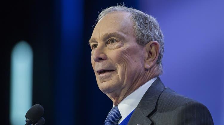 Michael Bloomberg wird nicht US-Präsident. (Erik S. Lesser / EPA)