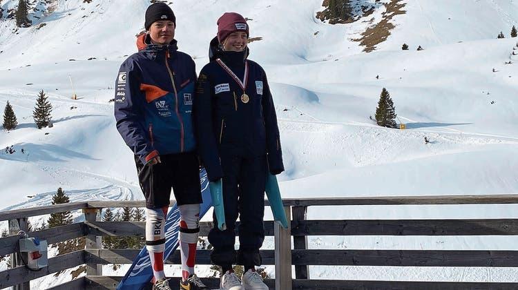 Noeh Balmer und Felix Berchtold sind die schnellsten Obwaldner Ski-Nachwuchsfahrer