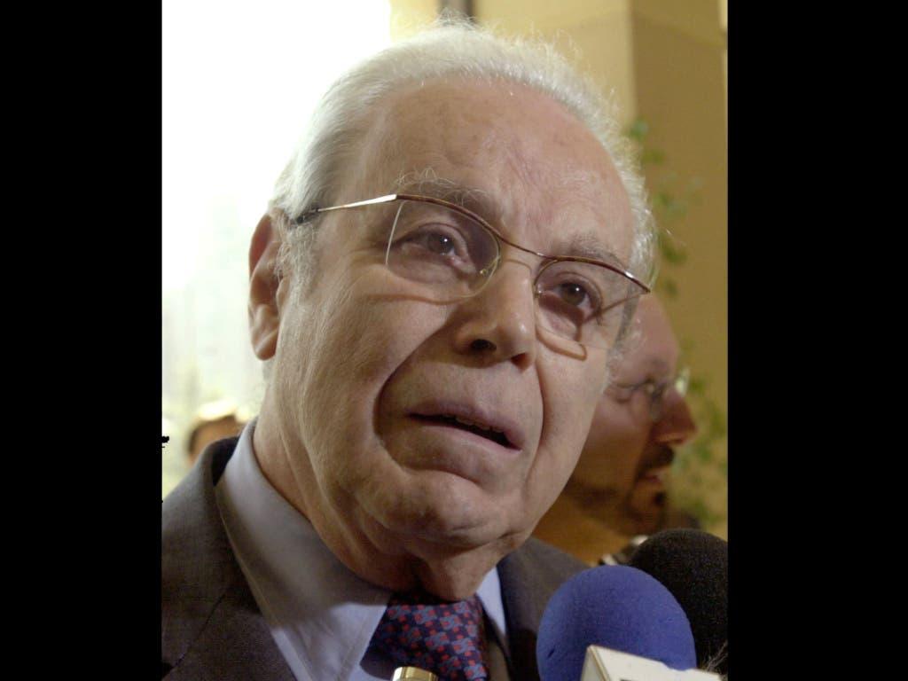 Der ehemalige UNO-Generalsekretär Javier Pérez de Cuéllar ist im Alter von 100 Jahren verstorben. (Achrivbild)