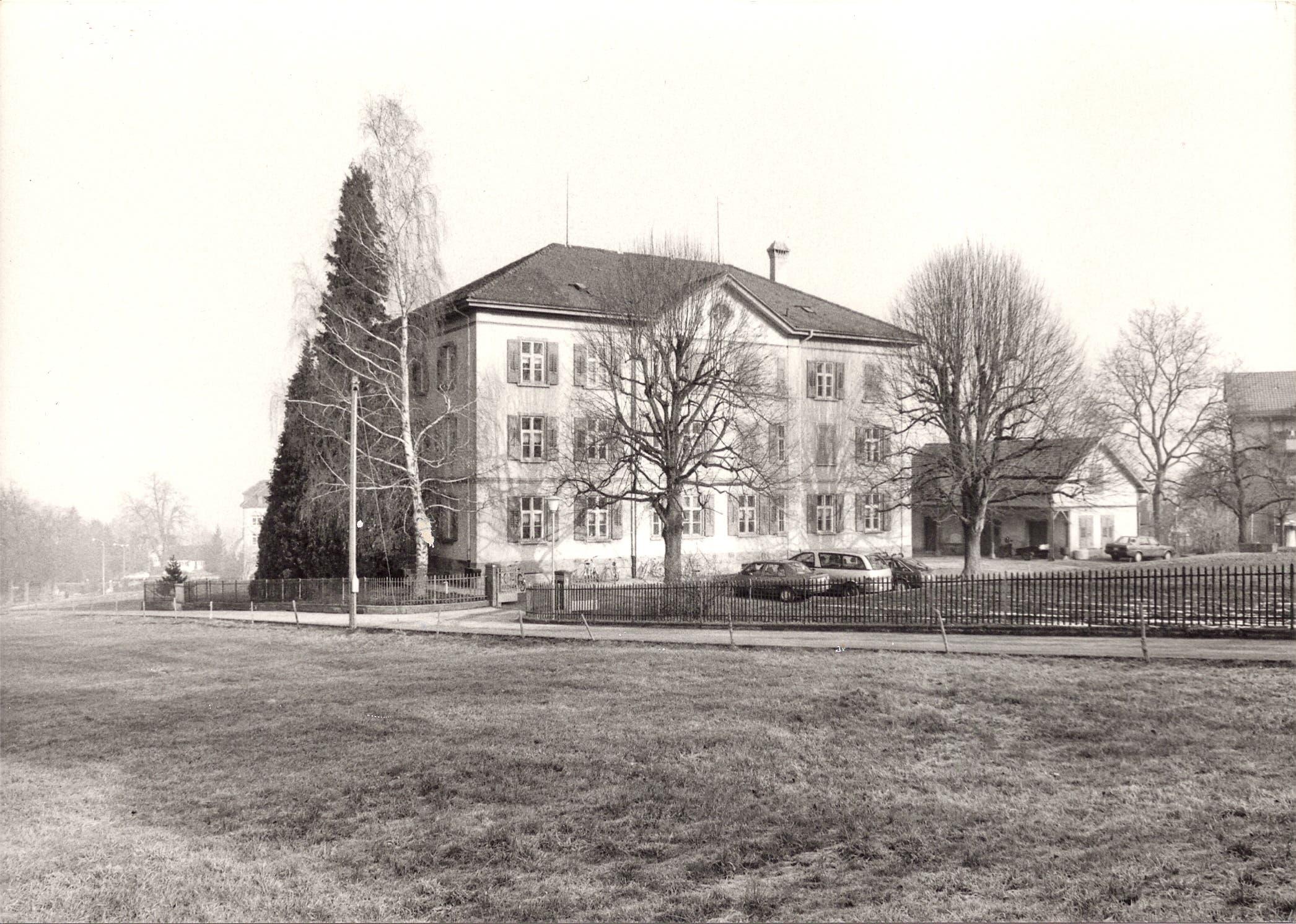 Das einstige Waisenhaus beherbergt heute die Musikschule Rorschach-Rorschacherberg. Während der Grippe 1918 diente es als Notspital.