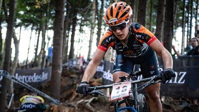Die Bezwingerin der Olympiasiegerin: Für Mountainbikeprofi Ramona Forchini wird es trotzdem schwierig, sich für die Olympischen Spiele 2020 zu qualifizieren