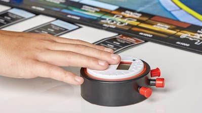 Die Uhr des Monopoly-Speed-Sets. (Bild. zvg)