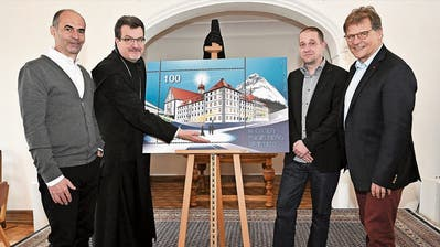 Engelberger Klosterbriefmarke strahlt Kraft und Dynamik aus