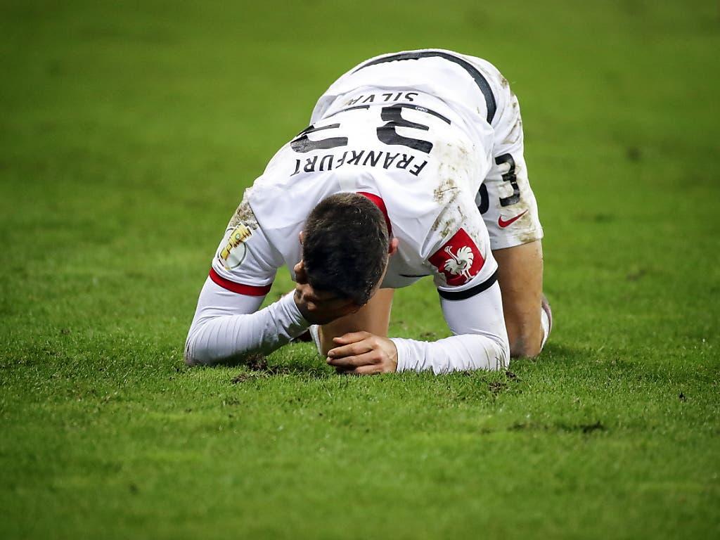 Eintracht Frankfurt und André Silva sind vor dem Europa-League-Duell gegen den FC Basel in der Krise