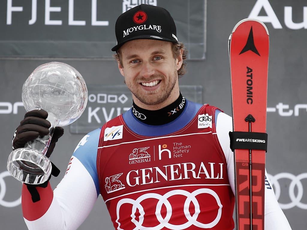 Mauro Caviezel war in diesem Winter der beste Super-G-Fahrer