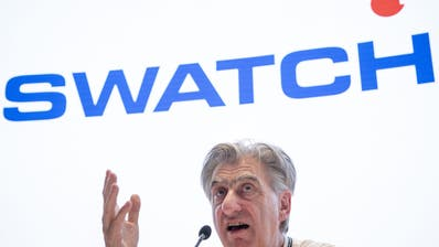 Rückläufige Exportzahlen, Corona-Virus oder Smartwatch: Swatch-Chef Hayek gibt sich unbekümmert. (Keystone)