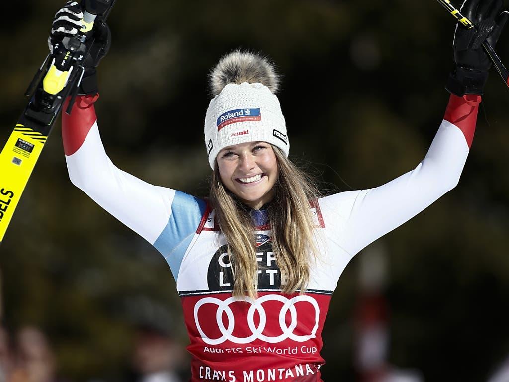 Seit diesem Wochenende steht fest, dass Corinne Suter auch im Super-G die beste Athletin des Winters war