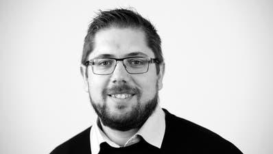 Ruben Schönenberger, Redaktionsleiter. (Bild: Ralph Ribi)