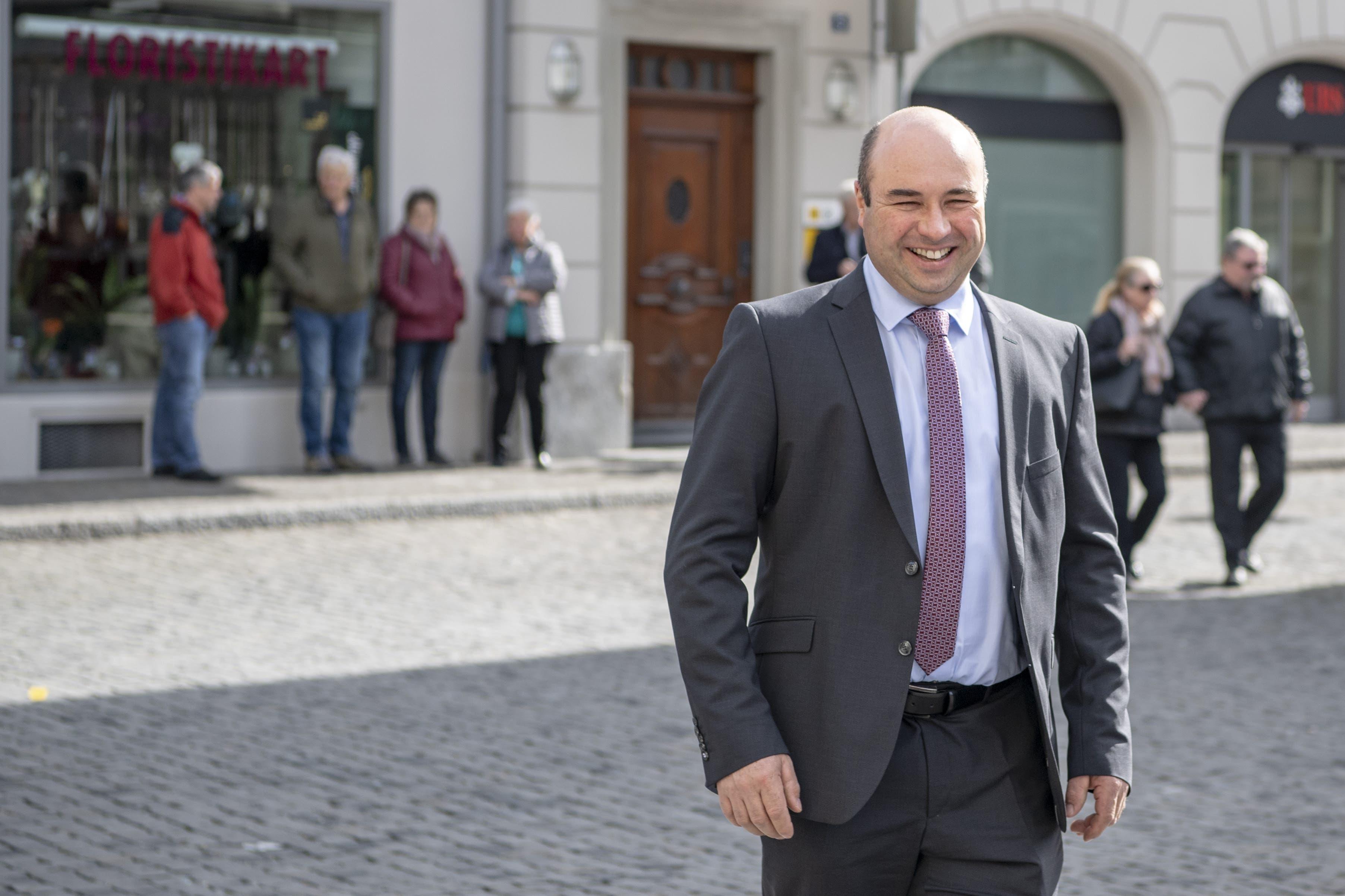 Freude beim neuen Regierungsrat Daniel Furrer (FDP).