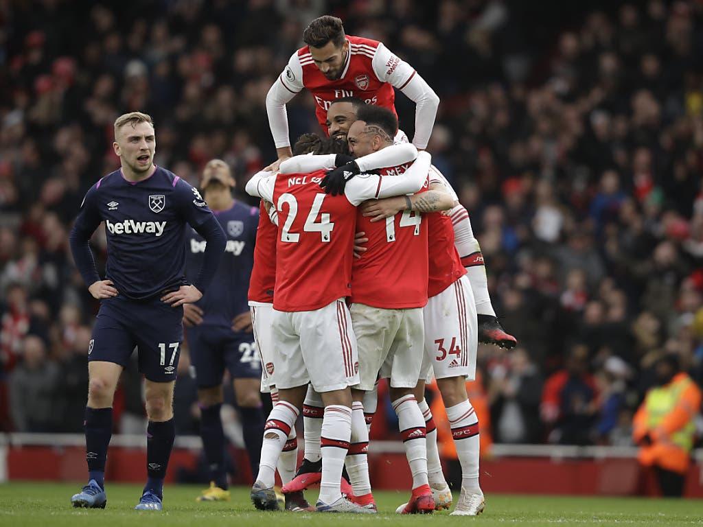 Zuletzt konnte Arsenal wieder öfter jubeln, etwa am Samstag beim 1:0 gegen West Ham