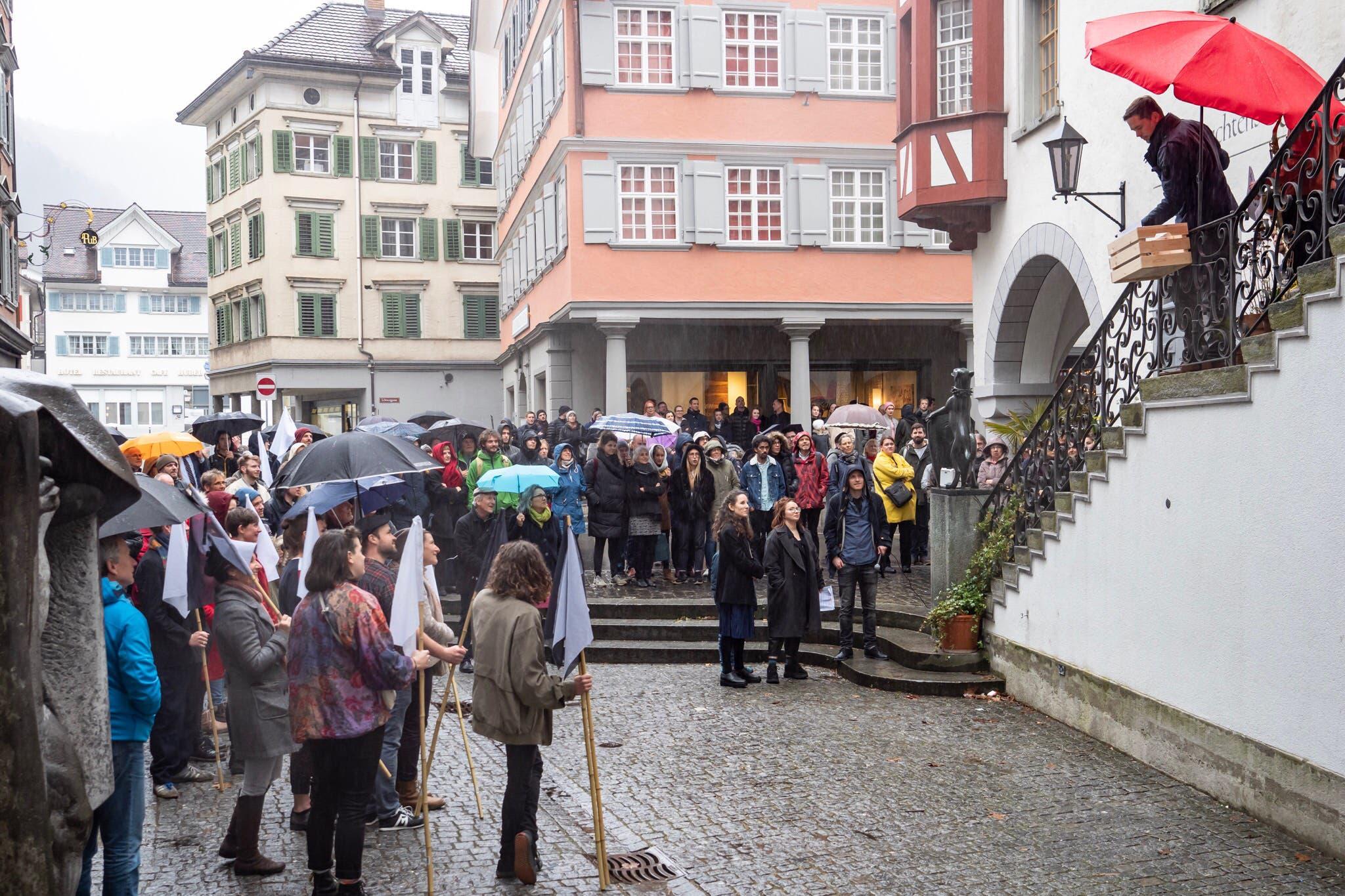 Am 9. März 2019 eröffnete das Rathaus für Kultur mit einem Festakt.