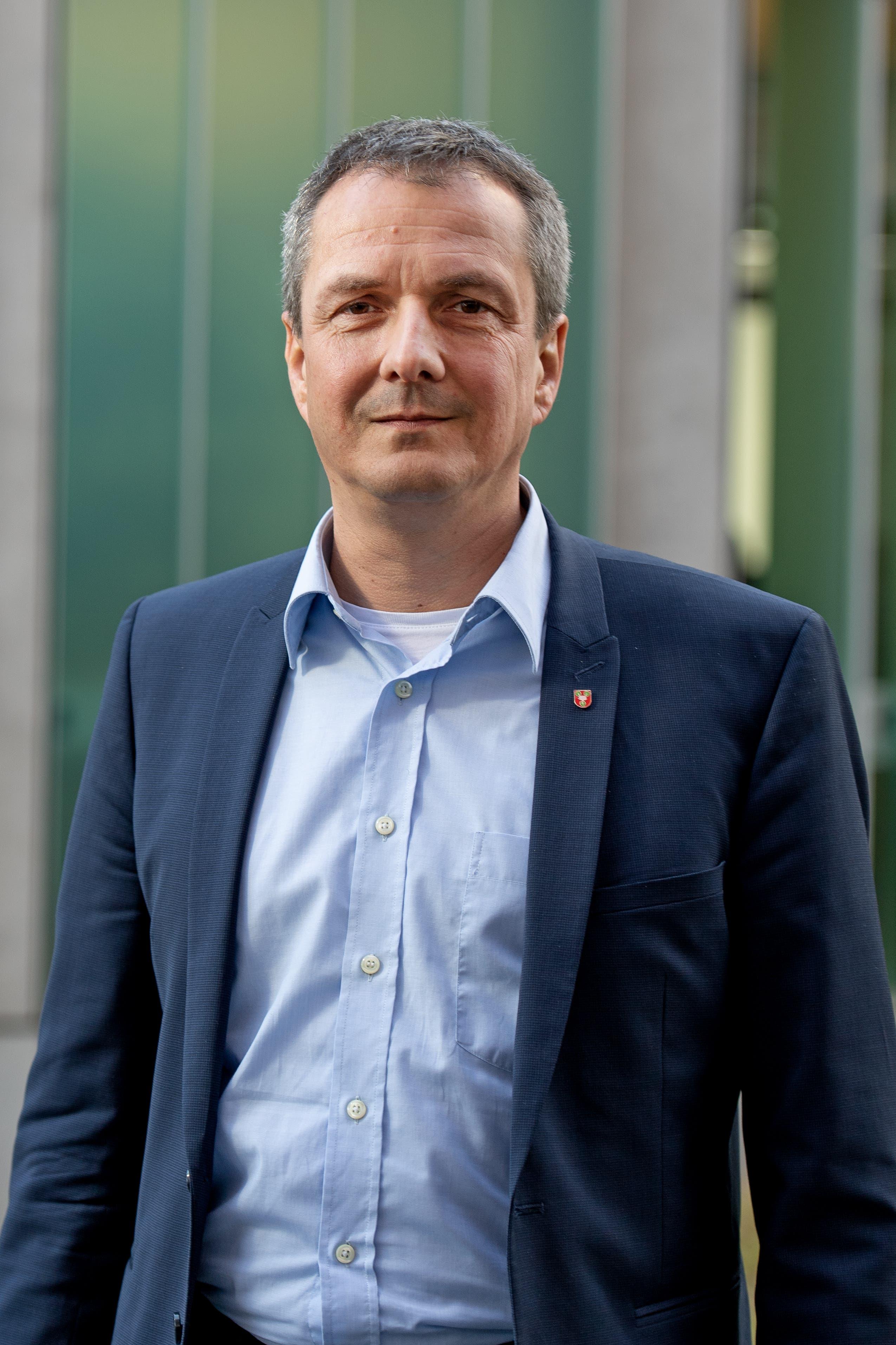 Gewählt: Daniel Gasser, CVP (bisher)