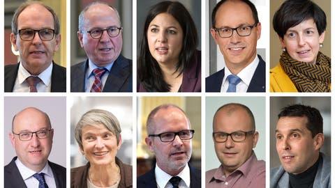 Datenanalyse zu den St.Galler Regierungsratswahlen: Die Top- und Flop-Gemeinden der Kandidierenden