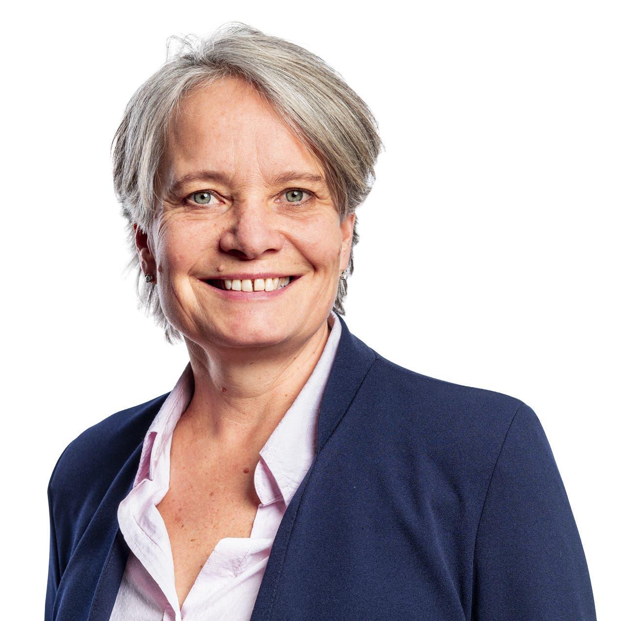 Gewählt mit 1'205 Stimmen: Karin Flück Felder, FDP