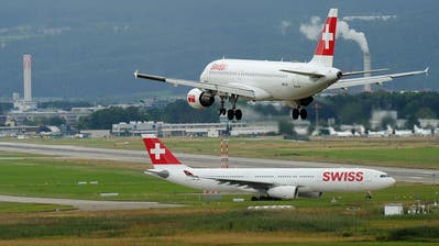 Der Swiss drohen wegen des Corona-Virus «Geisterflüge»