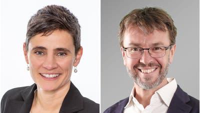 Lyn Gyger (parteilos) zieht neu in den Gemeinderat von Stans ein. Neuer Gemeindepräsident wird Lukas Arnold (Grüne). (Bilder: PD)