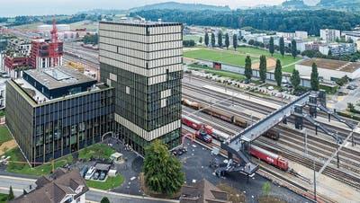 Es wird viel gebaut in der Zentralschweiz, wie hier im Suurstoffi-Areal am Bahnhof Rotkreuz. (Bild: Patrick Hürlimann (14. September 2019))
