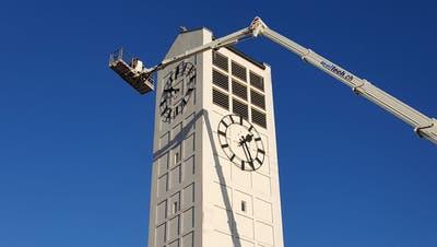 Zuerst Petra, dann Corona: Die Amriswiler Kirchturmuhr läuft seit bald zwei Monaten nicht mehr