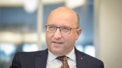 Beat Tinner, FDP-Regierungsratskandidat. ((Bild: Hanspeter Schiess))