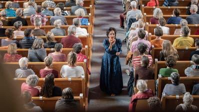 Solche Augenblicke wie 2018 in der Klosterkirche in Alt St.Johann wird es in diesem Jahr nicht geben, das Klangfestival wurde um ein Jahr verschoben. (Bild: Daniel Ammann)