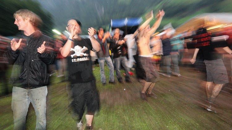 So ging es an der bisher letzten Muisiglanzgmeind 2009 zu und her. (Bild: Roger Zbinden (Grafenort, 24. Juli 2009))