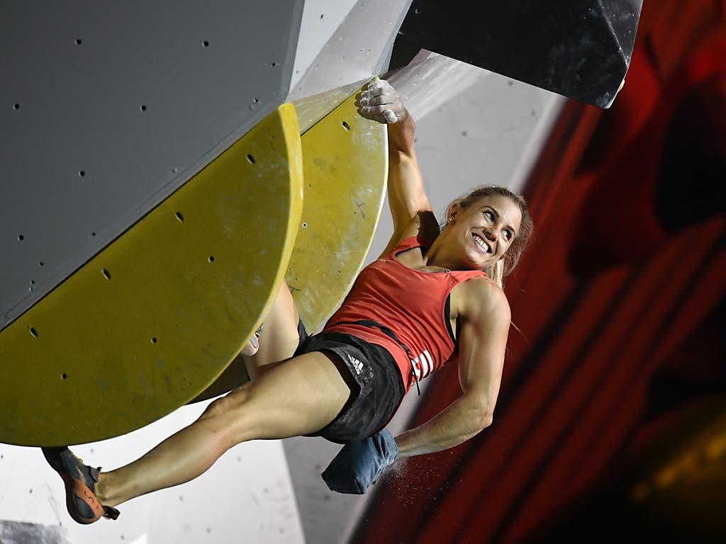 Petra Klingler im WM-Final 2019 in Japan