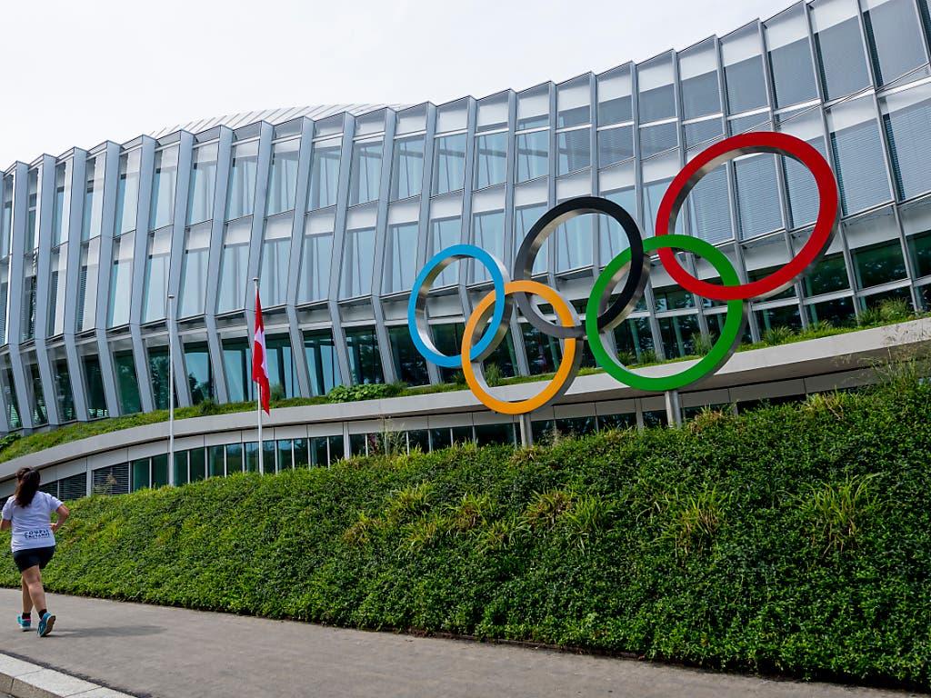 Das IOC-Hauptgebäude am Sitz in Lausanne