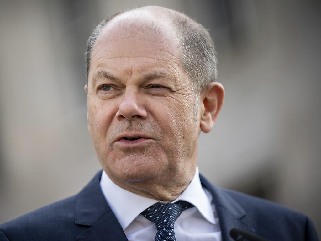 Der deutsche Finanzminister Olaf Scholz bezeichnet die Einigung auf das Corona-Rettungspaket als grossen Tag für die Solidarität in Europa.