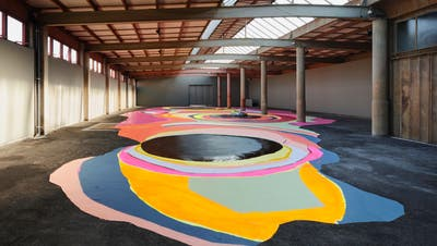 Susanne Hofer wollte ihre Ausstellung in der Kunsthalle Wil unbedingt realisieren, im Wissen darum, dass sie man sie wohl nie fürs Publikum würde öffnen können. (Bild: Nik Roth)