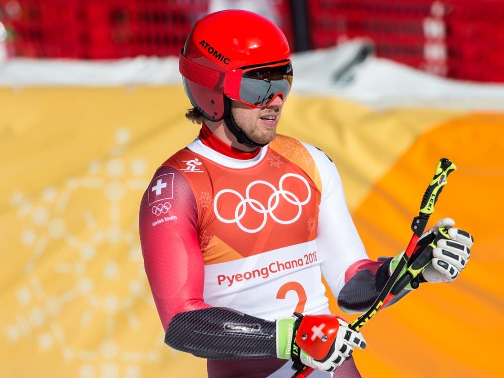 Von Mauro Caviezel gab es ein Olympia-Renndress zu ersteigern