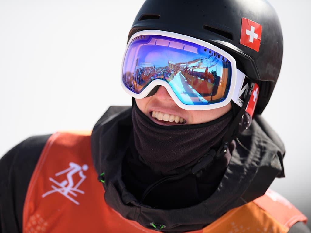 Andri Ragettli beteiligte sich mit seiner Olympia-Skibrille