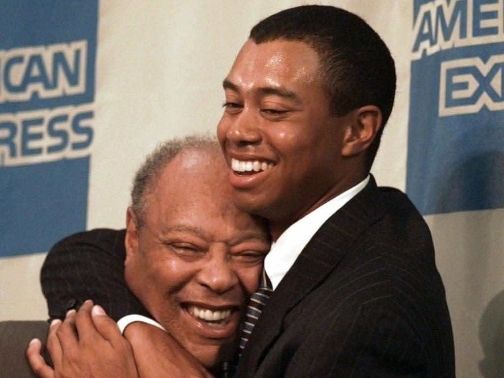 Vater Earl Woods entwickelte seinen Sohn von Geburt an zu einem Ausnahmegolfer