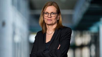 Erste Frau in der Suva-Geschäftsleitung: Edith Müller Loretz. (Bild: Philipp Schmidli, Luzern,3. März 2020)