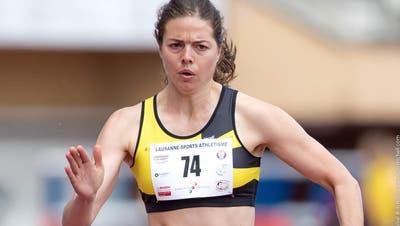 Leichtathletin Celine van Till isoliert sich. (Bild: Daniel Mitchell)